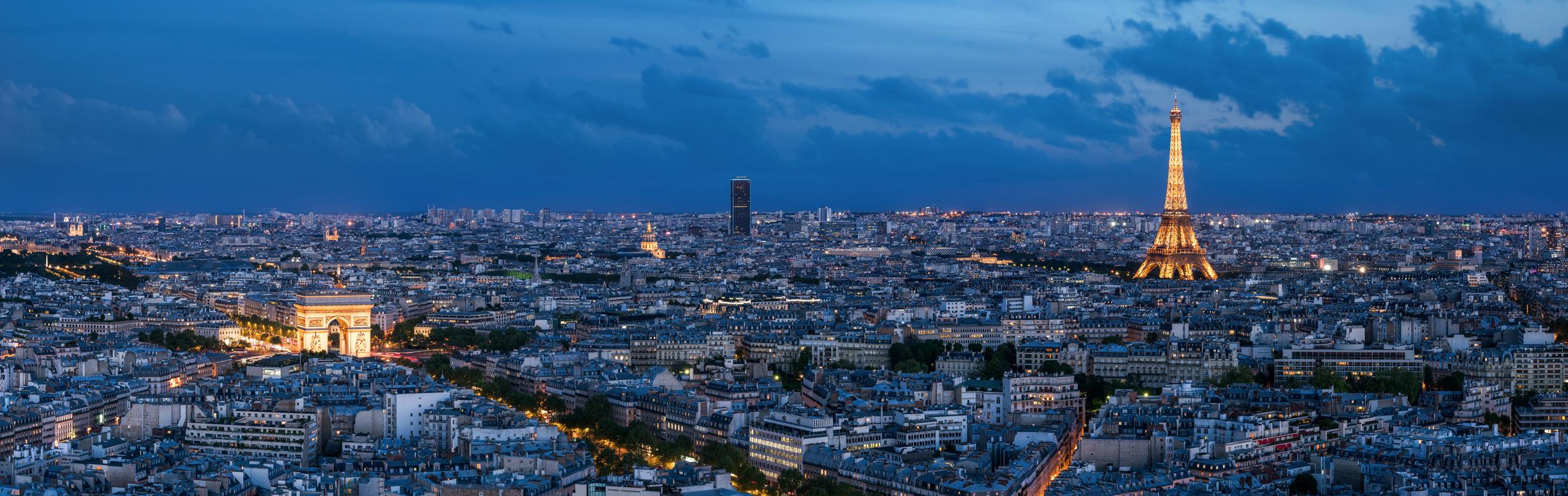 Paris  l'heure bleue
